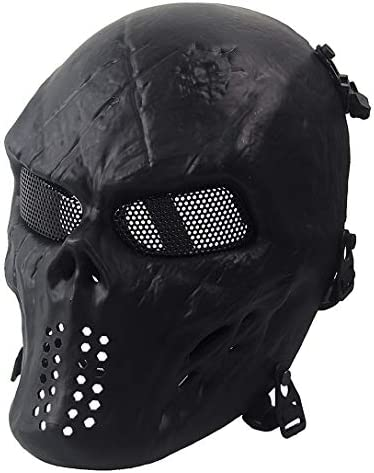 Skeleton Protection Halloween Paintball Masquerade product image