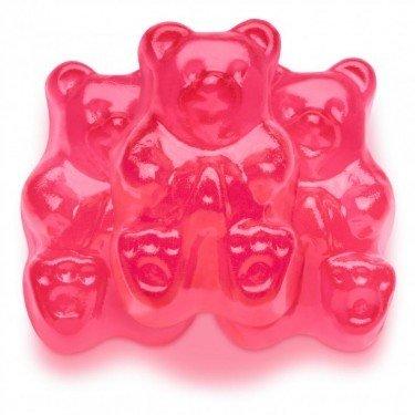 Pink Gummy Bears (FirstChoiceCandy Albanese Gummy Bears (Watermelon, 2)