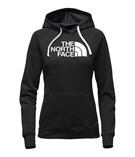 The North Face Women's Half Dome Hoodie - TNF Black/TNF White - M