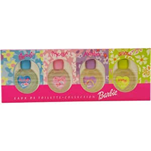 Mattel Barbie 4 Piece Set Mini Variety (Barbie Model, Barbie Princesa, Barbie Aventura, Barbie Sirena)