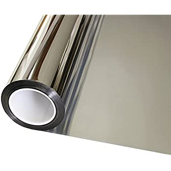 mirrored window film bq buy mirror uk amazon highly reflective extra dark
