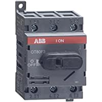 1- ABB OT80F3 DISCONNECT NON-FUSIBLE SWITCH, 3P, 80A, UL508 by ABB