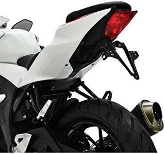 Highsider Motorrad-Kennzeichenhalter Kennzeichenhalter 280-823 f/ür Suzuki GSX-R//-S 125