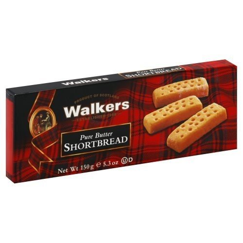 Walker's Shortbread Fingers, 5.3-Ounce (Pack of 12) ( Value Bulk Multi-pack) by Walkers
