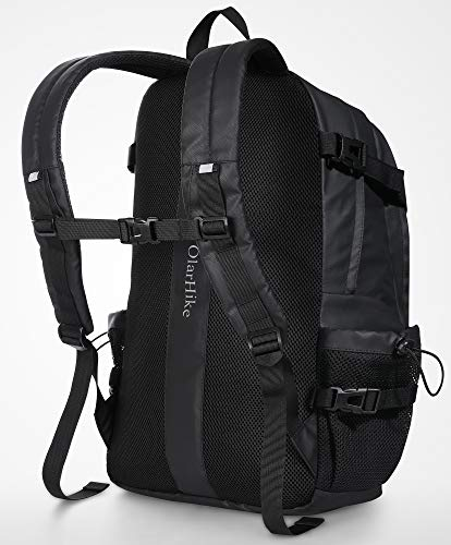 OlarHike 17.3 Inch Laptop Backpack Extra Large Waterproof College Backpack with Thicker Padded Laptop Sleeve and USB Charging Port for Daily Commute Casual Adventures
