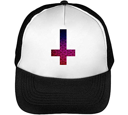 Snapback Hombre Vintage Nature Beisbol Negro Blanco Cross Overturned Gorras Fashioned O1wYEEqX