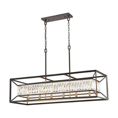 Elk Lighting 11186/6 Island Light Charcoal, Satin -