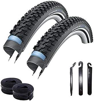 maxxi4you Marathon Plus Reflex 54-559 - Cubiertas para Bicicleta de montaña (2 Unidades, Incluye 2 mangueras SV13 y 3 desmontadores de neumáticos): Amazon.es ...