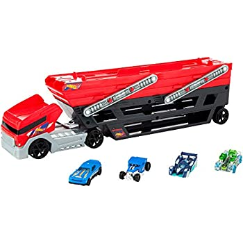 85347bec6fe Amazon.com: Hot Wheels Mega Hauler Truck [Amazon Exclusive]: Toys ...