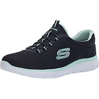Skechers Summits Navy/Aqua 6 B (M)