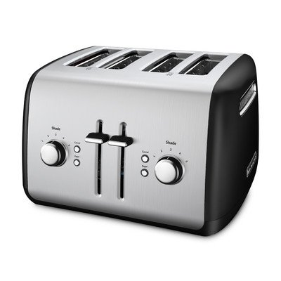 KitchenAid Toaster with Manual High-Lift Lever, Onyx Black (Kitchenaid Black Toaster Oven compare prices)