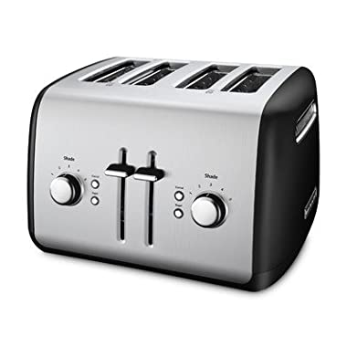 KitchenAid Toaster with Manual High-Lift Lever, Onyx Black
