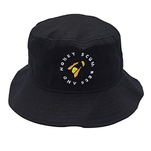 Unisex 100% Washed Cotton Packable Fishing Summer Travel Bucket Hat Outdoor Cap
