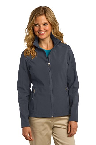 Port Authority Women's Core Soft Shell Jacket M Battleship Grey