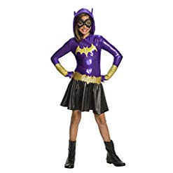 Rubie's Girls Batgirl Hoodie Dress