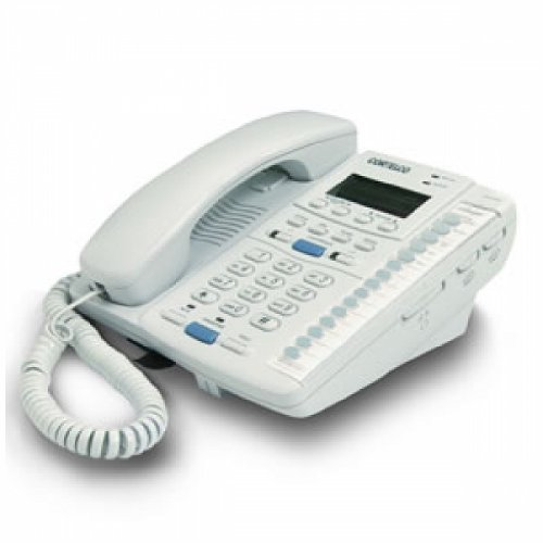 Line 2 Hotel Speakerphone (Cortelco 222021-Tp2-27e Colleague 2-Line Telephone En Ft)