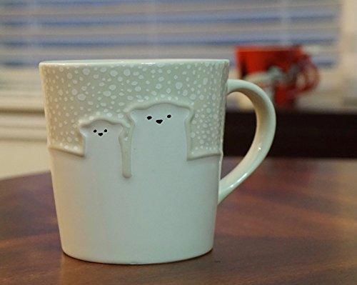 RARE Starbucks Holiday Polar Bear Mug 12 Oz. ()