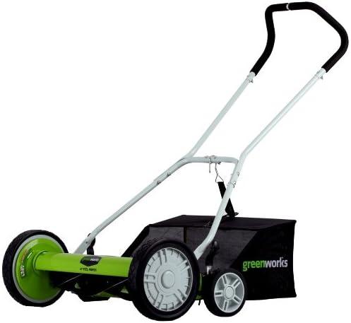 Greenworks 25062 Reel Lawn Mower