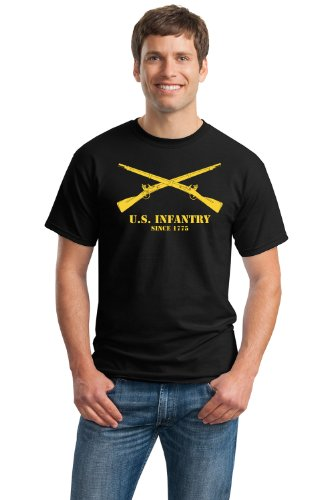 U.S. ARMY INFANTRY, SINCE 1775 Unisex T-shirt / Soldier Military Pride Tee