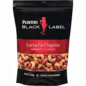 Planters Black Label Santa Fe Roasted Chipotle Cashews & Almonds 21 Oz.