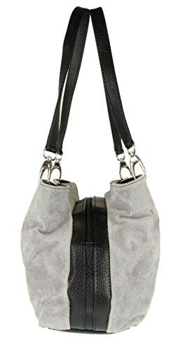 Handbags Bolso claro Mujer hombro de Girly gris Swnd1qS5