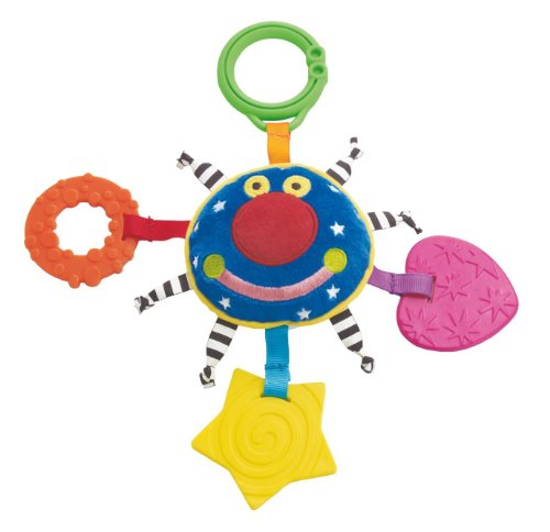 Teether Whoozit (Manhattan Toy Whoozit Orbit Teether and Travel Toy)