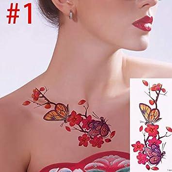 Tatuaje temporal a prueba de agua 3d realista Rose Sexy mujer ...