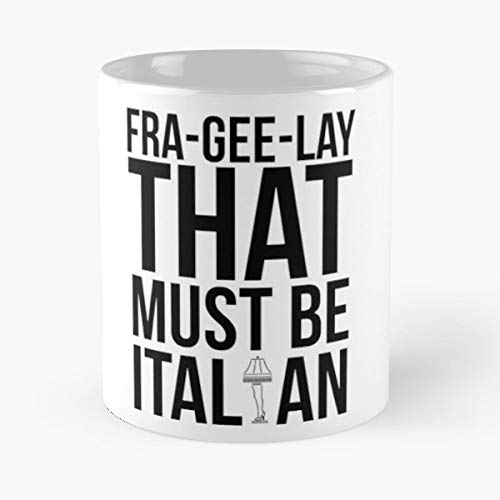 A Christmas Story Major Award Must Be Italian Humorous - 11 Oz Coffee Mugs Unique Ceramic Novelty Cup, The Best Gift For Christmas.]()