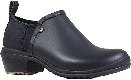 Bogs Womens Vista Low Rain Boot, Black, Size 7