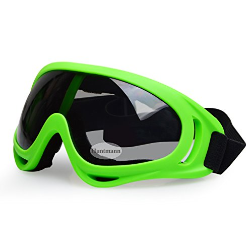 Protective Eyewear Goggles with Adjustable Strap and Cool Colorful Lens for Hunting Riding BMX Cycling Motorcycling Climbing and Shooting For Sale