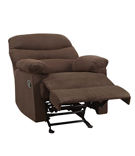 Acme Arcadia Chocolate Microfiber Recliner Buy Online In Uae Furniture Products