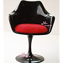 BJD Monster High Dolls Plastic Chair ~ 1/6 Scale Dollhouse Miniature Furniture Girls Barbie Blythe