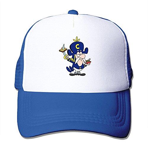 cool-trucker-hat-capn-crunch-adjustable-mesh-hat-trucker-cap-for-men-and-women-royalblue