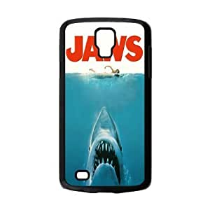 Top Samsung Case Teentopvogue Jaws Poster Shark in Water Samsung Galaxy S4 Active i9295 Case Cover