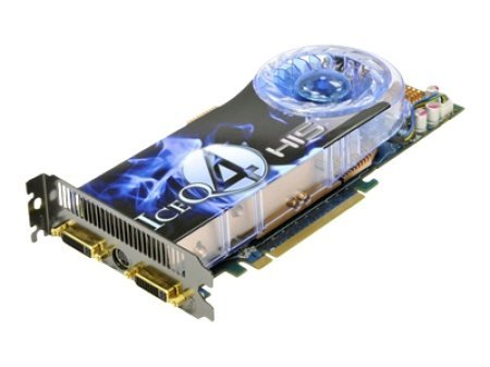 HIS H485QT512P Radeon HD 4850 IceQ4 Turbo HDMI Dual DL-DVI HDCP 512MB 256bit GDDR3 PCI Express 2.0 X16 RoHS Video Card - Retail