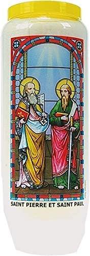 Neuvaine vitrail : saint pierre et saint paul