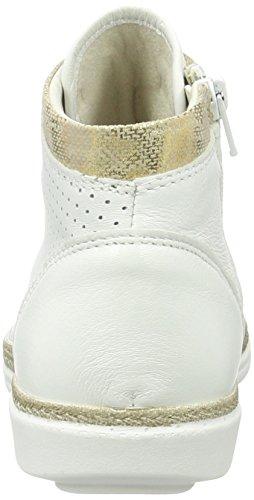 High 194 Damen Tamaris Weiß White Gold 25216 Top Lt qSwCEwRx