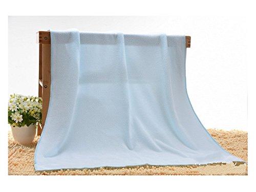 Multifunctional Tool Leading-star Microfiber Beach Bath Towels Superfine Fiber Dry Towels (light blue 70x140 CM)