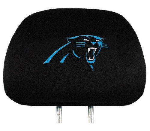 - NFL Carolina  Panthers Head Rest Covers, 2-Pack