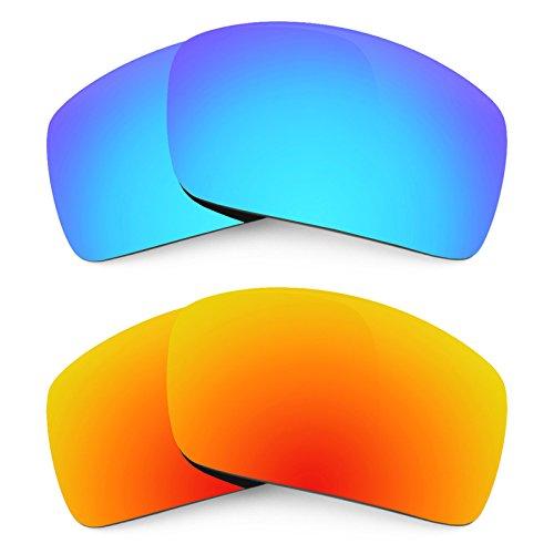 Verres Revant pour monture Oakley Oil Drum Polarisés 2 Combo Pack de paires K002