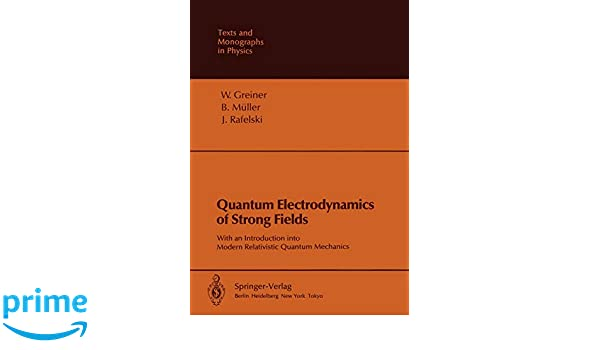 Quantum Electrodynamics of Strong Fields
