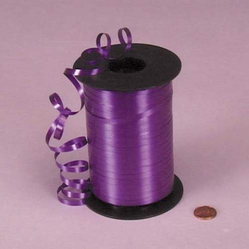 Purple Curling Ribbon, 3/16