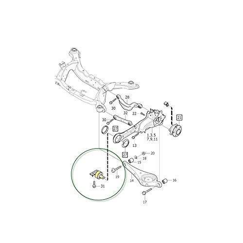 volvo xc60 control arm bushings - 5