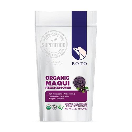 Amazon Com Boto Superfood Maqui Berry Powder 3 5 Oz Bag
