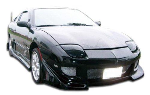 Duraflex Replacement for 1995-2002 Pontiac Sunfire Blits Front Bumper Cover - 1 Piece