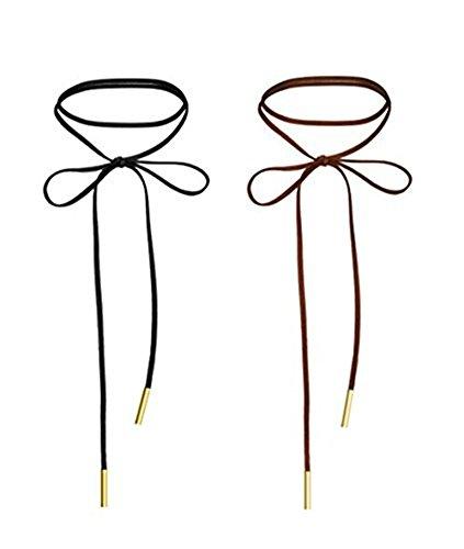 WaMLFac Leather Handmade Elastic Necklace product image