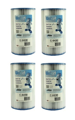 (4) New Unicel C-6430 Hot Springs Watkins Spa Filter Replacement Cartridges C6430)