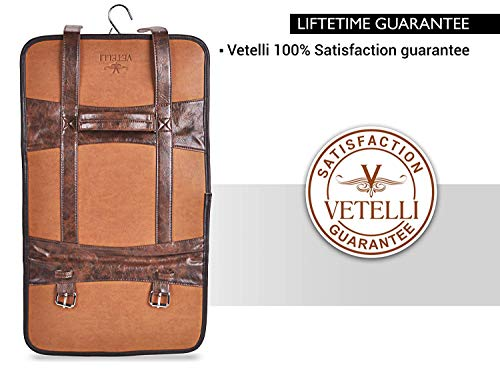 c8e2366c1898 Vetelli Hanging Toiletry Bag for Men - Dopp Kit/Travel Accessories  Bag/Great Gift