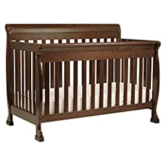 Beautifully made and incredibly versatile, our Kalani 4-in-1 Crib features gentle curves and sturdy construction that can be converted for use as a toddler bed, day bed and full-sized bed. Constructed from 100% natural solid New Zealand pine ...