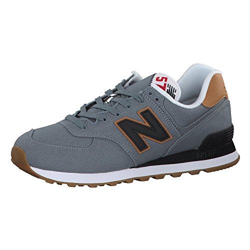 Grau ML574Y New Pack Balance Yatch Sneaker Braun Herren q8SwYSOfx